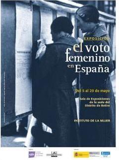 exposición el voto femenino en España
