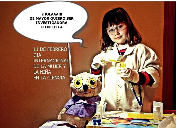 Futura investigadora científica valenciana
